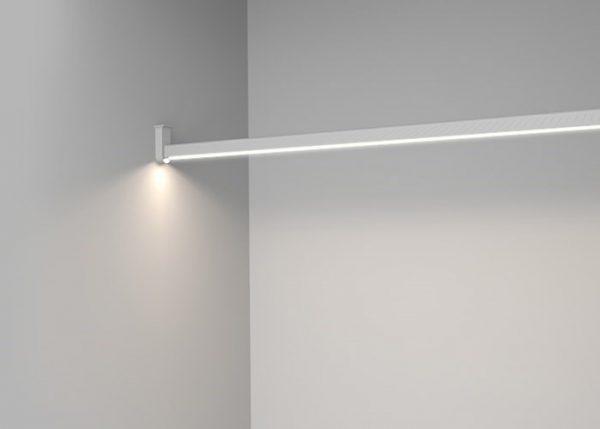 Linear LED Clothes Hanger