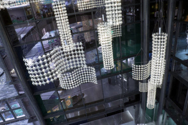 Custom made Bubbles structure_Renoma mall_Wroclaw,PL_