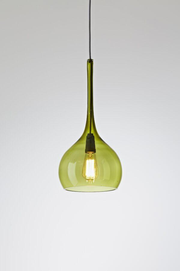 Hand blown glass Australian pendant light